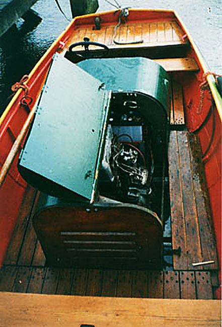 Een automotor, zoals in de boekjes.